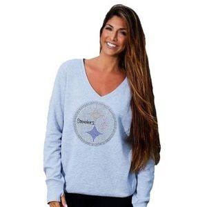 Official Steelers Grey Sweatshirt